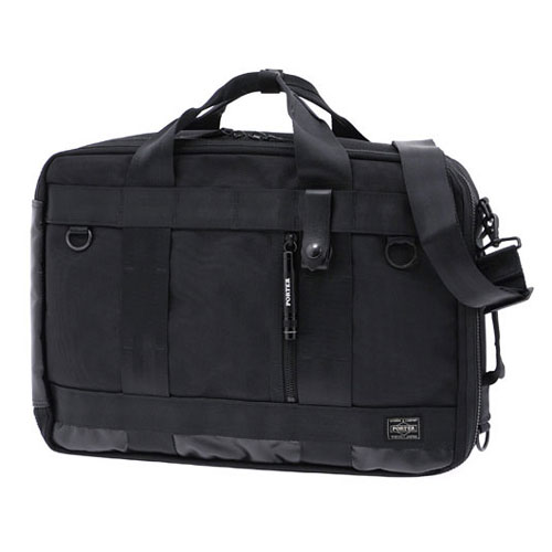 吉田カバンPORTER HEAT 3WAY BRIEF CASE